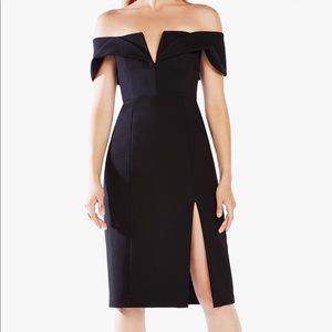 BCBG MaxAzria Marquis Off The Shoulder Dress